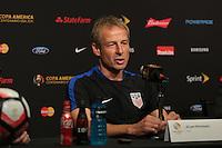 Copa America, United States (USA) Press Conference, June 02, 2016