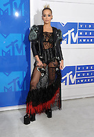 NEW YORK, NY - AUGUST 28  Rita Ora attend the 2016 MTV Video Music Awards at Madison Square Garden on August 28, 2016 in New York City Credit John Palmer / MediaPunch