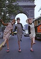 1960s Fashion, New York City, 1963. Photo by John G. Zimmerman.