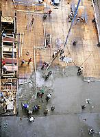 BUILDING CONSTRUCTION<br /> Reinforced Cement<br /> Pouring concrete floor level