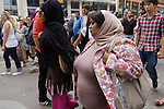ARAB MIDDLE EASTERN TOURISTS LONDON ENGLAND