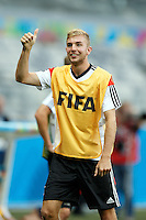 Christoph Kramer of Germany gives the thumbs up