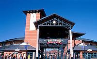 Ballparks: Lake Elsinore Diamond, Entrance. 1994: Architects, MNTB of Kansas City.
