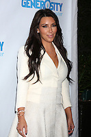 LOS ANGELES - MAY 4:  Kim Kardashian arrives at the 4th Annual Night of Generosity Gala Event at Hollywood Roosevelt Hotel on May 4, 2012 in Los Angeles, CA