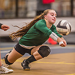 2015-10-16 HS: Enosburg Falls at Vermont Commons School Volleyball