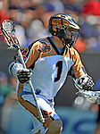 24 August 2008: Rochester Rattlers' Midfielder Joe Walters in action against the Denver Outlaws during the Championship Game of the Major League Lacrosse Championship Weekend at Harvard Stadium in Boston, MA. The Rattles defeated the Outlaws 16-6 to take the league honor for the 2008 season...Mandatory Photo Credit: Ed Wolfstein Photo