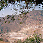 Caldera of a former volcano, Nisyros island, Dodecanese, Greece
