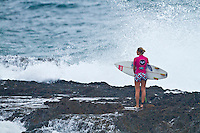 SNAPPER ROCKS, Queensland/Australia (Saturday, February 25, 2012) Stephanie Gilmore (AUS). – Pulsing three-to-four foot (1 metre) swell is filling in at Snapper Rocks today ushering in the start of the 2012 ASP Women's World Championship Tour season with the Roxy Pro Gold Coast presented by Land Rover commencing at 7:30am.. .Event No. 1 of 7 on the 2012 ASP Women's World Championship Tour season, the Roxy Pro Gold Coast will feature the world's best female surfers including reigning ASP Women's World Champion Carissa Moore (HAW), 19, four-time ASP Women's World Champion Stephanie Gilmore (AUS), 24, winner of last week's ASP 6-Star Australian Open of Surfing Sally Fitzgibbons (AUS), 21, and a host of others..Photo: joliphotos.com