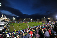 A general view of the Recreation Ground during the match. Aviva Premiership match, between Bath Rugby and Northampton Saints on December 5, 2015 at the Recreation Ground in Bath, England. Photo by: Patrick Khachfe / Onside Images