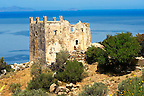 Tower of Ayia (Agia) Venetian fort - Naxos Greek Cyclades Islands