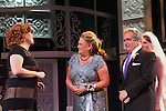 """Guiding Light's Kim Zimmer stars in """"It Shoulda Been You"""" - a new musical comedy - at the Gretna Theatre on July 30, 2016 along wth Jane Brockman (All My Children) - both she and Kim were in separate companies of the national tour of Wicked.  Also starring in musical are Joel Briel and Kayleen Seidl. (Photo by Sue Coflin/Max Photos)"""