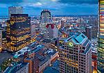 Downtown office buildings in Boston, MA.