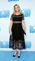 NEW YORK, NY March 20, 2017 Lisa Kudrow, attends DreamWorks presents premiere of The Boss Baby at AMC Loews Lincoln Square  in New York March 20, 2017. Credit:RW/MediaPunch