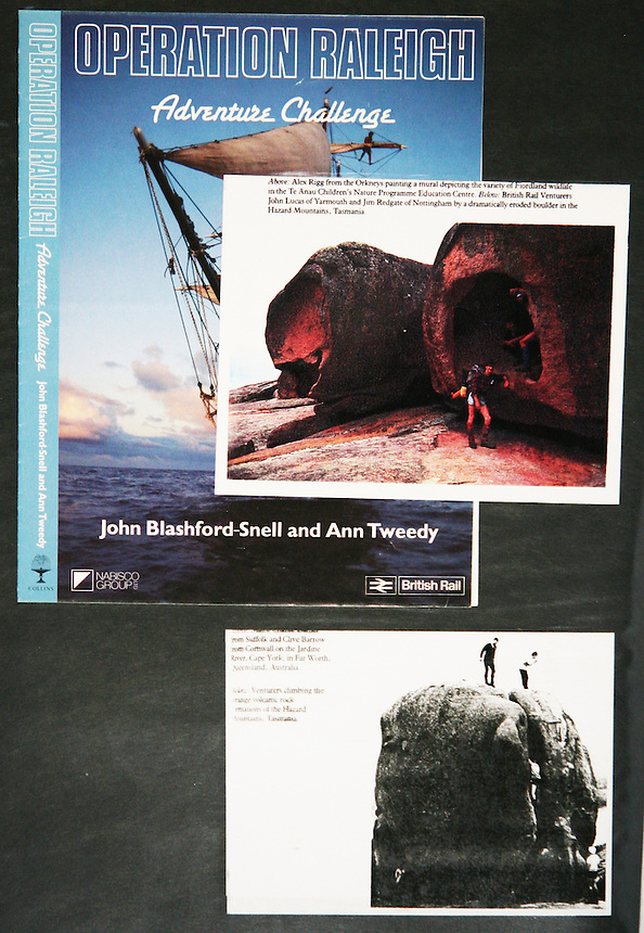 Several of my photos were used in the main Operation Raleigh Expedition book.