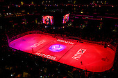 View on Staples Center during ice-hockey match between Los Angeles Kings and Detroit Red Wings in NHL league, February 28, 2011 at Staples Center, Los Angeles, USA. (Photo By Matic Klansek Velej / Sportida.com)