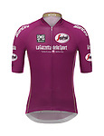 The Giro 100 Points Classification leader's jersey will be the classic Maglia Ciclamino, the colour of the jersey from 1970 to 2009. Segafredo Zanetti is the new sponsor. Milan, Italy. 18th April 2017.<br /> Picture: RCS Media | Cyclefile<br /> <br /> <br /> All photos usage must carry mandatory copyright credit (&copy; Cyclefile | RCS Media)
