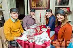 Enjoying Dine in The Dark in aid of NCBI at Cassidy's on Monday were Robert Babington, Gary O'Carroll, Laoise Phelan and Aine Brennan