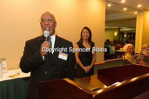 The Hyde Park Chamber of Commerce held its 96th Annual Anniversary Dinner Thursday evening at the LaQuinta Inn and Suites located at 4900 S. Lake Shore Drive.<br /> <br /> Please 'Like' &quot;Spencer Bibbs Photography&quot; on Facebook.<br /> <br /> All rights to this photo are owned by Spencer Bibbs of Spencer Bibbs Photography and may only be used in any way shape or form, whole or in part with written permission by the owner of the photo, Spencer Bibbs.<br /> <br /> For all of your photography needs, please contact Spencer Bibbs at 773-895-4744. I can also be reached in the following ways:<br /> <br /> Website &ndash; www.spbdigitalconcepts.photoshelter.com<br /> <br /> Text - Text &ldquo;Spencer Bibbs&rdquo; to 72727<br /> <br /> Email &ndash; spencerbibbsphotography@yahoo.com
