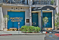 Mastros, Steak House, Canon Drive, DR. ;Beverly Hills; CA.