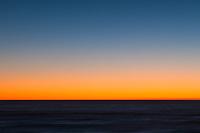 Sunset on coast in Punakaiki, Paparoa National Park, West Coast, New Zealand