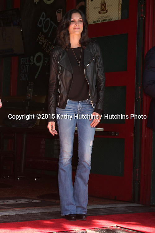 LOS ANGELES - MAR 5:  Daniela Ruah at the Chris O'Donnell Hollywood Walk of Fame Star Ceremony at the Hollywood Blvd on March 5, 2015 in Los Angeles, CA