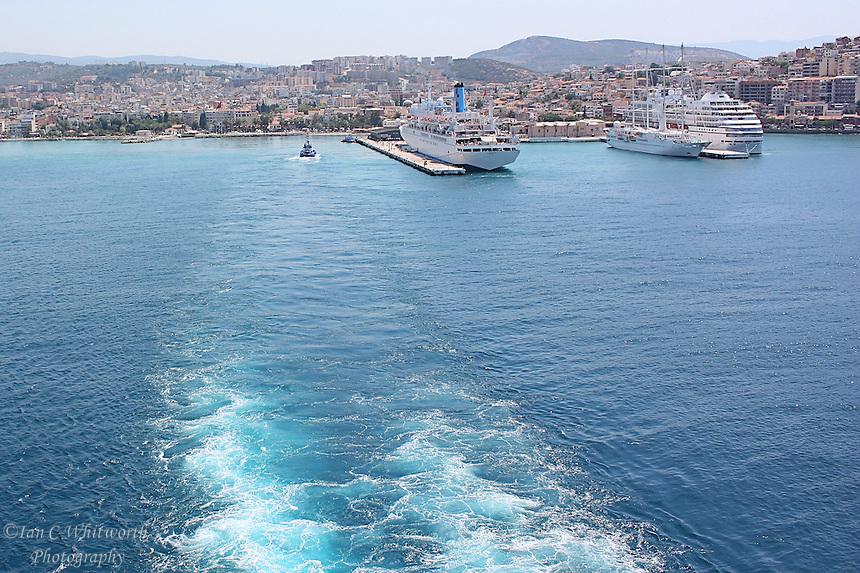 Sailaway from ephesus ian c whitworth photography - Ephesus turkey cruise port ...