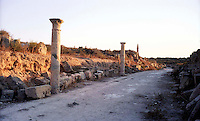 Libia  Sabratha .Citt&agrave;  romana a circa 67km da Tripoli.<br /> Sabratha Libya.Roman city about 67km from Tripoli.