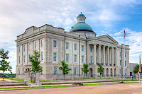 The Old Mississippi State Capitol, located on N. State Street in Jackson, Mississippi, was built in 1837 and served as the Capitol until 1903.