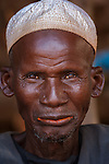 Portrait of a Dogon man, Mali