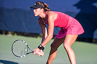 NEW YORK, NY – AUGUST 25: Garbine Muguruza (ESP) competes in the day session of the first round of the 2014 US Open.