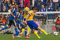 San Jose, CA. - Sunday, March 6, 2016: The San Jose Earthquakes defeated the Colorado Rapids 1-0 at Avaya Stadium.
