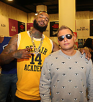 LOS ANGELES, CA - JUNE 24, 2016 The Game & Scott Storch  battends the BET Awards Remote Radio Room Day 1 at The JW Marriot in Los Angeles, CA. Photo Credit: Walik Goshorn / Media Punch