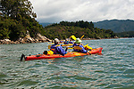New Zealand, South Island: Kayaking from Kaiteriteri along the Abel Tasman National Park coast. Photo copyright Lee Foster. Photo # newzealand125027