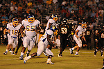 Oxford High's Mont Dean (22) runs vs. Charleston in Charleston, Miss. on Friday, August 26, 2011. Oxford won.