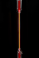 EMISSION OF LIGHT FROM GAS IN A DISCHARGE TUBE<br />
