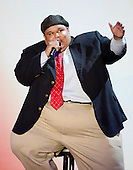 """Neal Boyd sings """"God Bless America"""" at the 2012 Republican National Convention in Tampa Bay, Florida on Tuesday, August 28, 2012.  .Credit: Ron Sachs / CNP.(RESTRICTION: NO New York or New Jersey Newspapers or newspapers within a 75 mile radius of New York City)"""