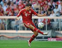 Fussball Bundesliga Saison 2011/2012 3. Spieltag FC Bayern Muenchen - Hamburger SV Mario GOMEZ (FCB).