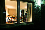 Rocketeers make the final adjustments to their rockets in the hotel rooms of the Best western Inn, Manchester Tennesseee.