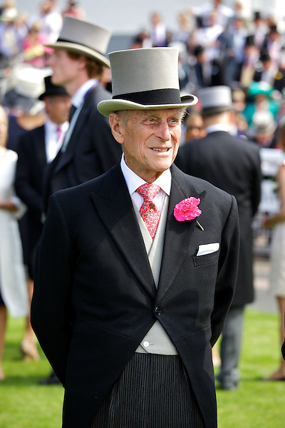 Prince Philip in The Royal Enclosure at The Epsom Derby - June 2011