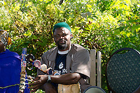 Musician and traditional healer, New Gloucester Maine, USA