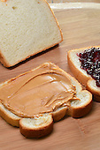 Stock photo of peanut butter