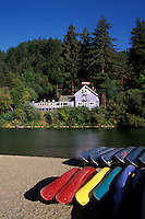 California, Russian River, Beach at Monte Rio