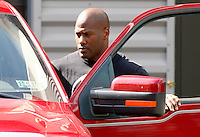 PITTSBURGH - JULY 26:  A day after the NFL lockout ended, James Harrison #92 of the Pittsburgh Steelers gets in his truck before leaving the South Side training facility on July 26, 2011 in Pittsburgh, Pennsylvania.  (Photo by Jared Wickerham/Getty Images)