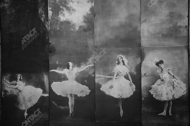 In the large museum at the Vaganova Ballet Academy in St. Petersburg, photographs of one of its most famous dancers, Anna Pavlova, hung on the wall. March 19, 2009