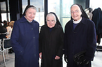 ***NO FEE PIC***.15/11/2010.(L to R).Sister Clare,.Sister Angela,.Sister Maria from St. Jospeh's Killiney.at the launch of Children's Hope.TV at The Media Cube, IADT,Dun Laoghaire, Co. Dublin..The Irish children's Charity Children's Hope has developed an online educational resource for young people & youth workers, a website caleed www.childrens-hope.tv..The websitte features short curriculm-adhering educational programmes available to be played by young people in after-school projects geared to Youth & Comunity Leaders..Photo: Gareth Chaney Collins