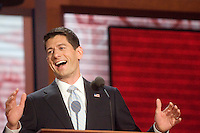 TAMPA, FL - August 29, 2012 - Remarks by vice presidential nominee Rep. Paul Ryan at the 2012 Republican National Convention.