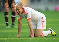 FUSSBALL   1. BUNDESLIGA  SAISON 2011/2012   33. Spieltag FC Bayern Muenchen - VfB Stuttgart       28.04.2012 Arjen Robben (FC Bayern Muenchen)