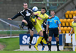 St Johnstone v Kilmarnock....06.11.10  .Dave Mackay and Manuel Pascan.Picture by Graeme Hart..Copyright Perthshire Picture Agency.Tel: 01738 623350  Mobile: 07990 594431
