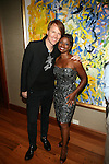 Designer Dan O'Neil and Broadway Actress Montego Glover Attend Theia Spring 2014 Presentation Held at the New York Palace, NY