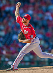 7 September 2014: Washington Nationals pitcher Aaron Barrett on the mound against the Philadelphia Phillies at Nationals Park in Washington, DC. The Nationals defeated the Phillies 3-2 to salvage the final game of their 3-game series. Mandatory Credit: Ed Wolfstein Photo *** RAW (NEF) Image File Available ***